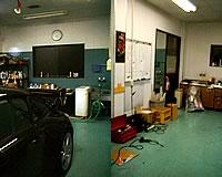 ボディコーティングとフイルム施工の工場を完全に分離