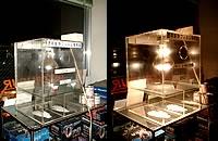 透明断熱フィルム体感器
