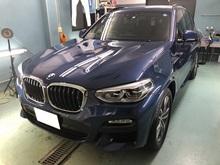 BMW X3 ヘッドライトプロテクションフィルムのイメージ