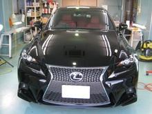 レクサスIS GT-Cガラスコートのイメージ