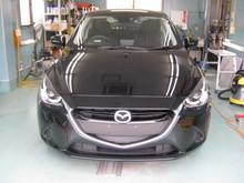 新車デミオGT-Cガラスコートのイメージ
