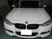 BMWツーリングワゴン 断熱スモーク施工のイメージ