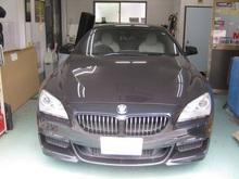 BMW640i シルフィード断熱フィルム施工のイメージ