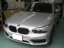 BMW1シリーズ断熱フィルム施工のイメージ