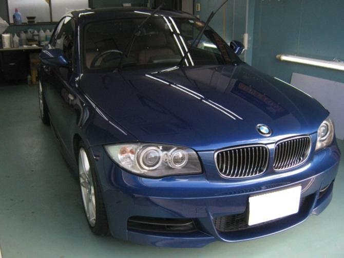 BMW135i GT-Cガラスコートのイメージ