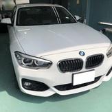 BMW118i 透明断熱フィルム施工のイメージ